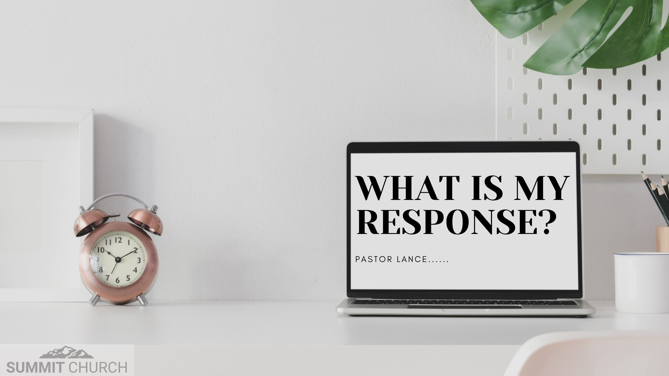 What Is My Response? by Lance Steeves